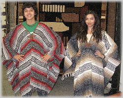 how to make a mexican poncho
