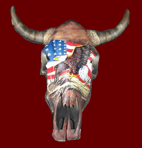 Pictures of Painted Cow Skulls http://hawaiidermatology.com/hand/hand-painted-cow-skulls.htm